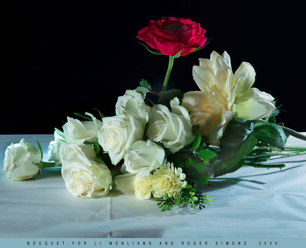 BOUQUET FOR LI-WENLIANG AND ROGER SIMONS